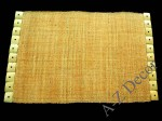 Amber raffia table placemat [AZ00237]