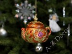 Orange tea-pot 8cm - TEA TIME collection [AZ01615]