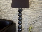 Iris brown PERLA IX floor lamp 170cm [AZ02178]