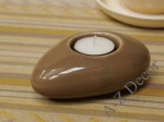 Ceramic T-light holder 12cm [AZ02036]