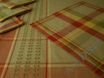 Square tablecloth 150x150cm with 4 napkins [AZ00165]