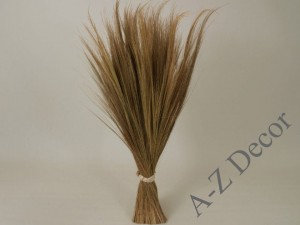 Natural beige tiger grass bouquet 75cm [AZ00955]
