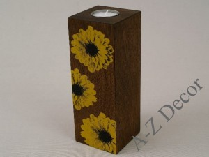 TOURNESOL T-light holder 20cm [003353]