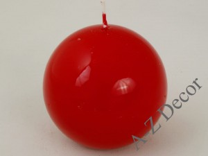 Red ball candle 9cm [AZ01769]