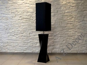 BIG TWISS black floor lamp 25x129cm [AZ02559]