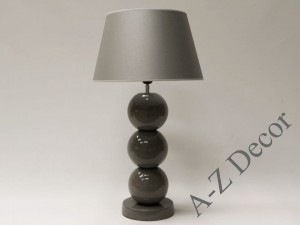 Gray PERLA III table lamp 71cm [AZ02436]