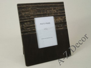 Black and gray CRUDO photo frame 27x32cm [003913]