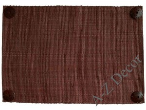Raffia table placemat 33x48cm [AZ00668]