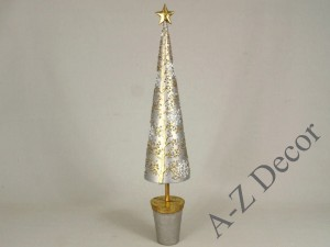 Christmas tree wth golden star 54cm [AZ01290]