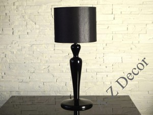 Black NIGRA SLIM table lamp 58cm [AZ02105]