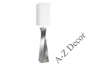 Silver TWISS floor lamp 168cm [AZ02231]