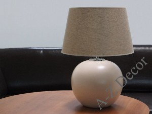 OSCAR matt light pink bedroom lamp 50cm [AZ02671]