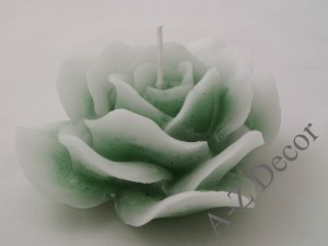 Scented rose candle 15cm [AZ01799]