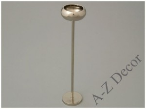 Metal T-light holder 5x25cm [AZ00862]