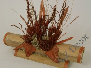 Dried flowers arrangement 30cm [AZ00963]