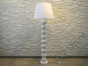 White ceramic floor lamp 170cm [AZ02027]