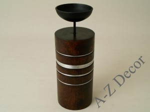 Pillar candle holder 10x20cm [AZ00739]