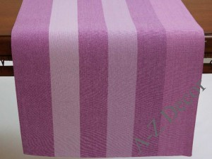 AFRICAN VIOLET cotton table runner 140cm [AZ02136]