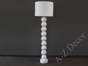 White PERLA IX ceramic floor lamp 170cm [AZ02491]
