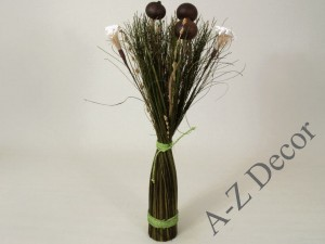 Dried flowers arrangement 55cm [AZ00958]