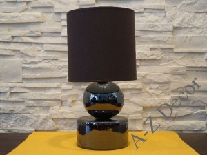 Iris brown PERLA I bedroom lamp 39cm [AZ02176]