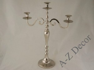 Metal candle holder 50cm [AZ02171]