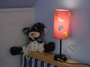 TEDDY multicolor bedroom lamp 34cm [AZ00179]