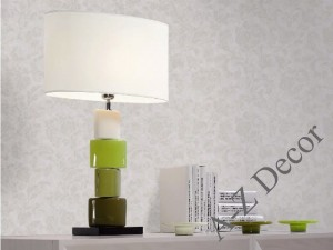 Green CHANELA table lamp 61cm [AZ02482]