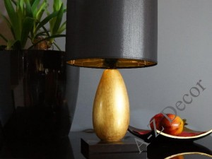 Light gold NURIA bedroom lamp 42cm [AZ01893]