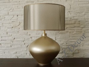 Gold metallic LUCIA table lamp 56cm [AZ01859]