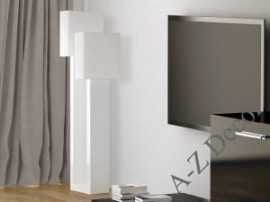 White modern BIG IL floor lamp 161cm [AZ02229]