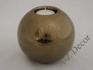 Ceramic T-light candle holder 13cm [AZ02318]
