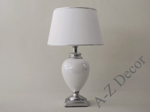 White SANSSOUCI table lamp 53cm [AZ02333]