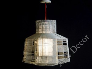 BUSY gray pendant lamp 47cm [AZ02297]