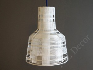 Section pendant lamp white 37cm [AZ02302]