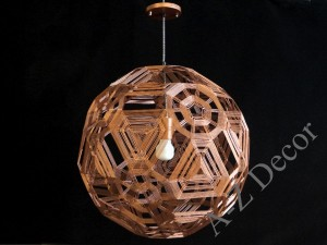 ZATTELITE copper colored pendant lamp 50cm [AZ02313]