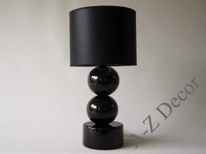 Black PERLA II bedroom lamp 51cm [AZ02342]