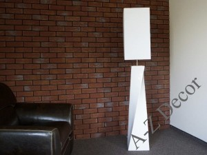 White TWISS floor lamp 168cm [AZ02222]