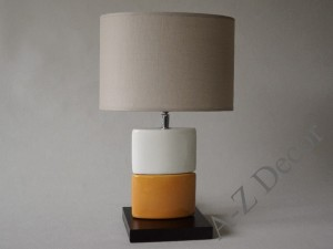 CHANEA Petit orange bedroom lamp 43cm [AZ02338]