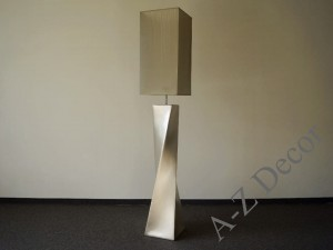 Light gold TWISS floor lamp 168cm [AZ02331]