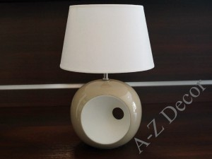 Cappuccino OLA bedroom lamp 38cm [AZ02255]