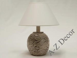 Ceramic LIANA bedroom lamp 32cm [AZ02259]