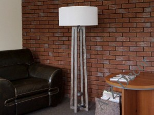 IF wooden floor lamp 147cm [AZ02251]