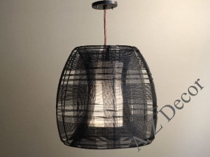 CURIOUS dark gray pendant lamp 40cm [AZ02295]