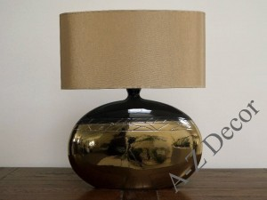 Gold SMOOTH table lamp 54cm [AZ02241]