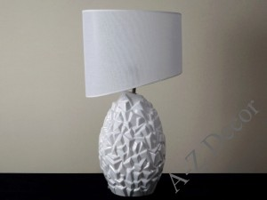 White EROCK table lamp 62cm [AZ02235]