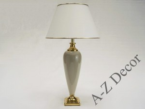 Ivory TRIANON table lamp 73cm [AZ02261]