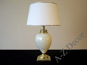 Ivory SANSSOUCI table lamp 53cm [AZ02398]