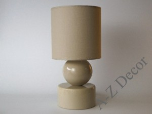 Cappuccino PERLA I bedroom lamp 39cm [AZ02406]