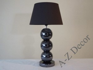 Iris brown PERLA III table lamp 71cm [AZ02407]